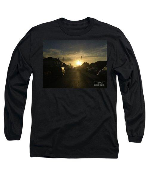 Sunrise Street Long Sleeve T-Shirt by Andrew Middleton