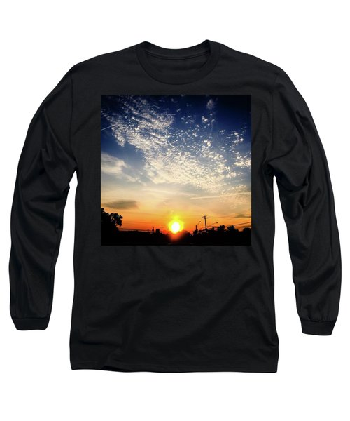 Sunset 25 May 16 Long Sleeve T-Shirt by Toni Martsoukos