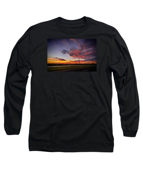 Sunset Along Jd Long Sleeve T-Shirt