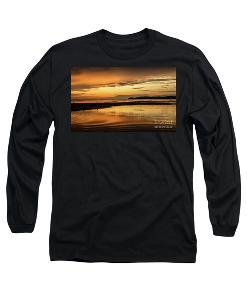 Sunset And Reflection Long Sleeve T-Shirt
