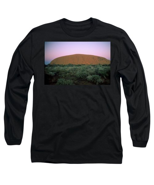 Sunset At Ayre's Rock Long Sleeve T-Shirt