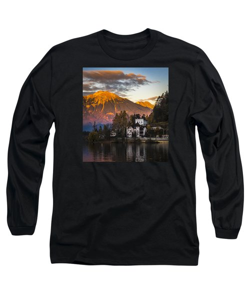 Sunset At Bled Long Sleeve T-Shirt