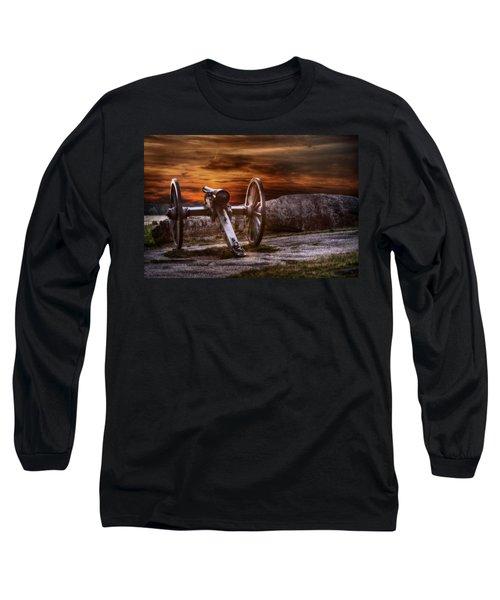 Sunset At Gettysburg Long Sleeve T-Shirt