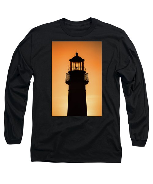 Sunset At Lighthouse Long Sleeve T-Shirt