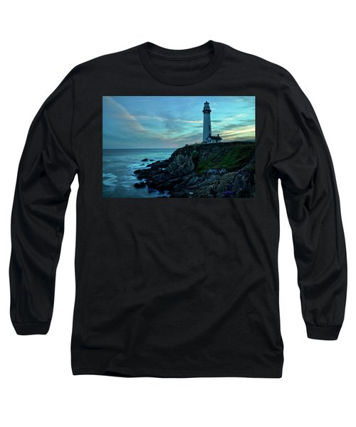 Sunset At Pigeon Point Long Sleeve T-Shirt