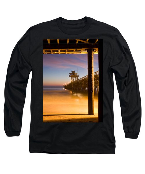 Sunset At San Clemente Long Sleeve T-Shirt