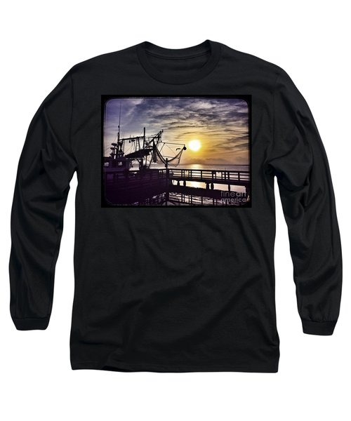 Sunset At Snoopy's Long Sleeve T-Shirt
