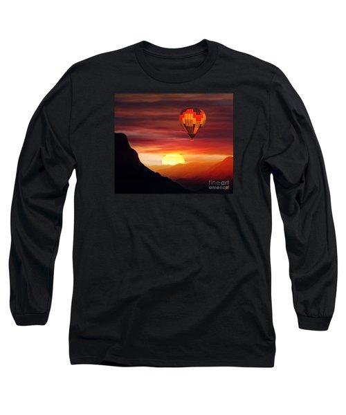 Sunset Balloon Ride Long Sleeve T-Shirt