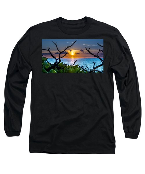 Sunset By The Point Long Sleeve T-Shirt