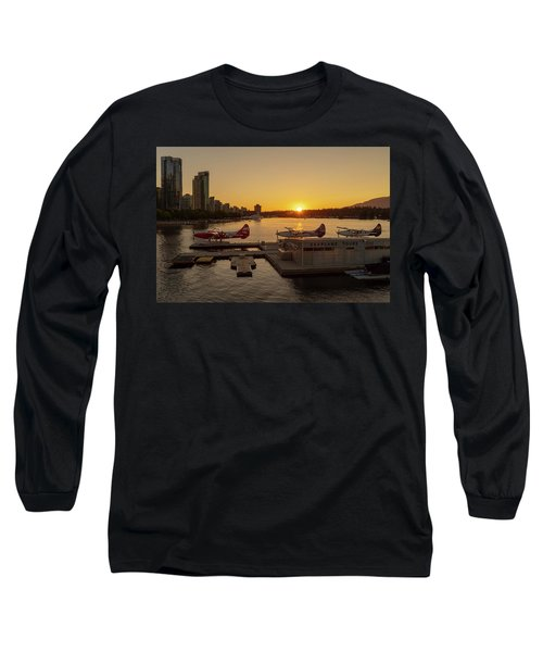 Sunset By The Seaplanes Long Sleeve T-Shirt