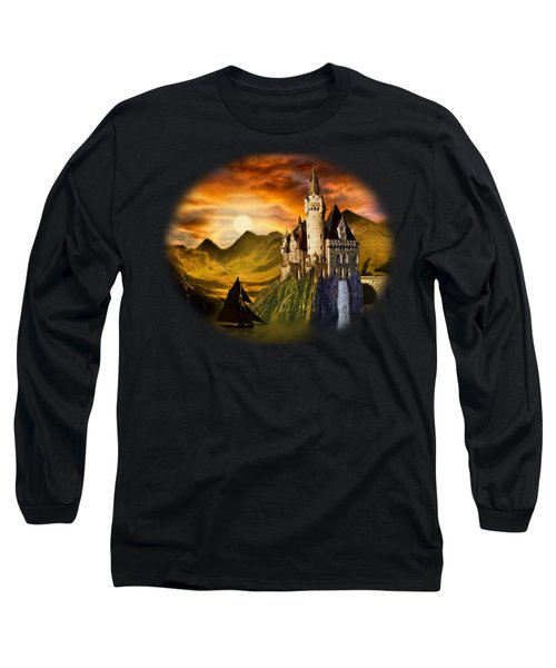 Sunset Castle Long Sleeve T-Shirt