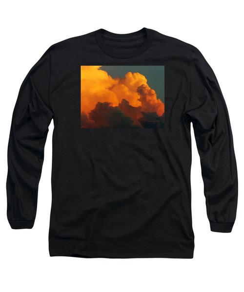 Sunset Clouds Long Sleeve T-Shirt by Jana Russon