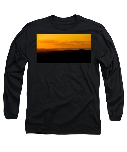 Long Sleeve T-Shirt featuring the photograph Sunset by Evgeny Vasenev