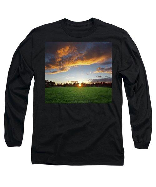Sunset Field Long Sleeve T-Shirt
