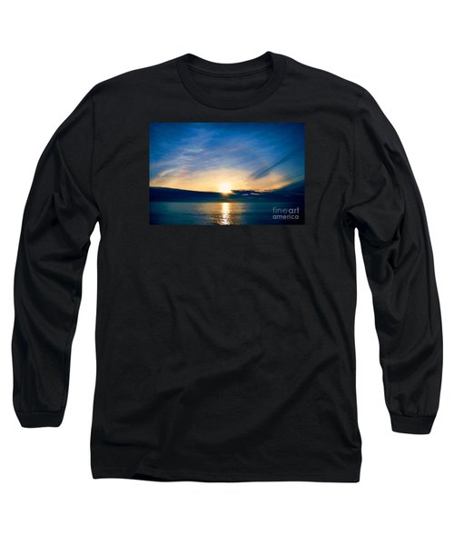 Shine Through Me Long Sleeve T-Shirt by Sharon Soberon