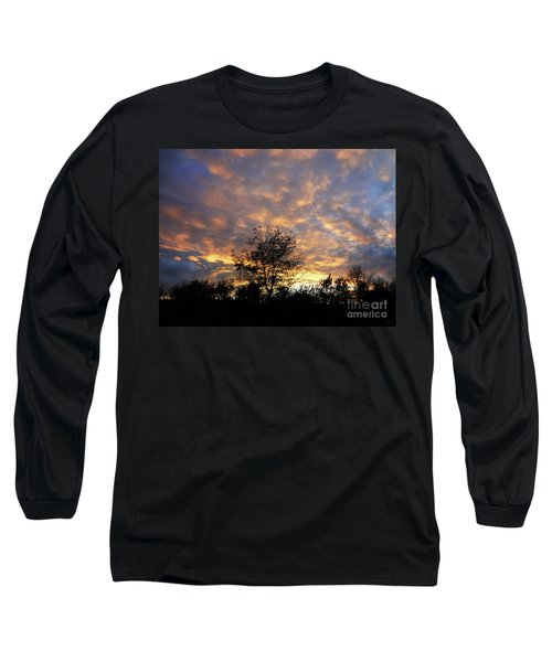 Sunset Glow Long Sleeve T-Shirt by Gem S Visionary