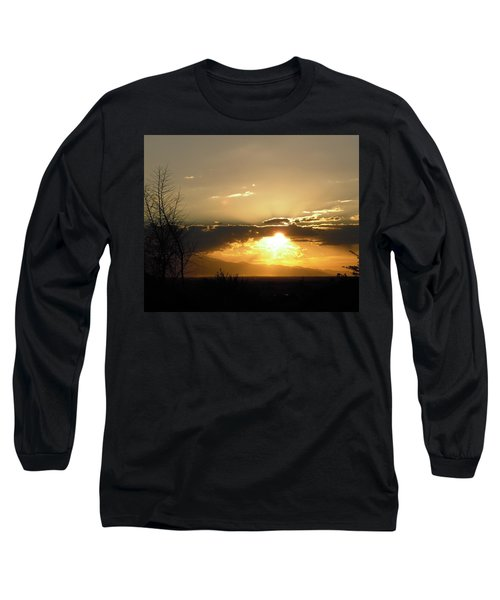 Sunset In Apple Valley, Ca Long Sleeve T-Shirt