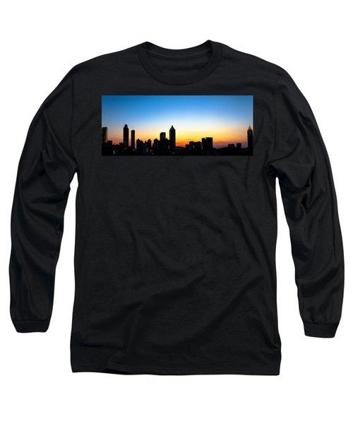 Sunset In Atlaanta Long Sleeve T-Shirt
