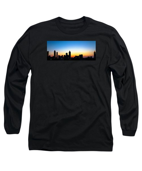 Sunset In Atlaanta Long Sleeve T-Shirt