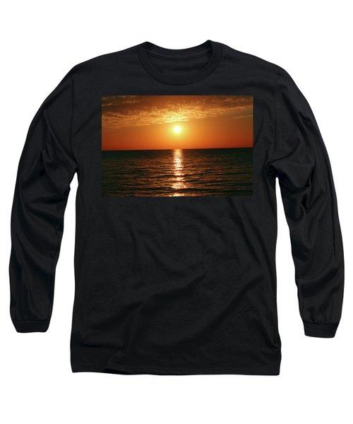 Sunset In Bimini Long Sleeve T-Shirt