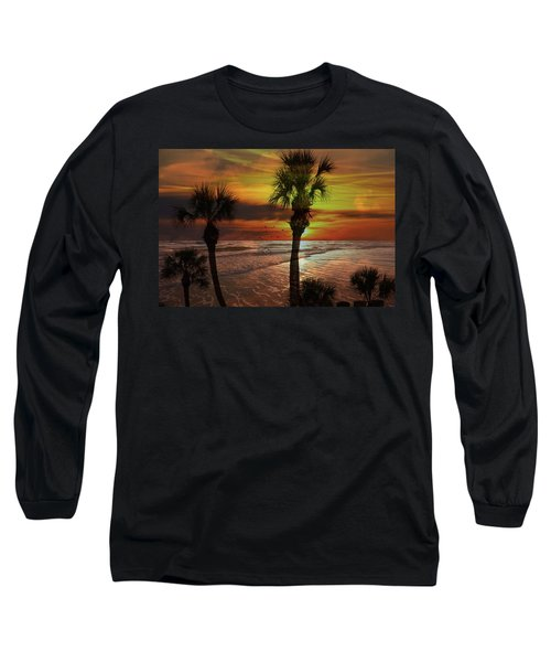 Sunset In Florida Long Sleeve T-Shirt