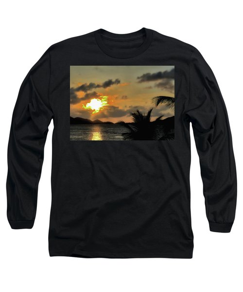 Sunset In Paradise Long Sleeve T-Shirt by Jim Hill