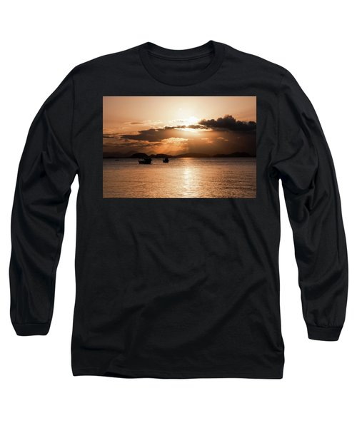Sunset In Southern Brazil Long Sleeve T-Shirt