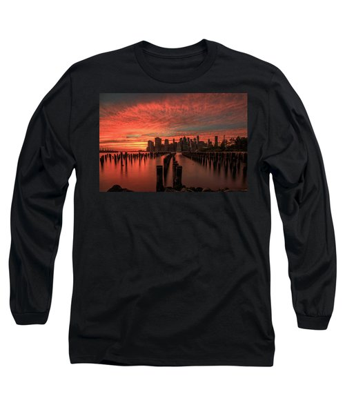 Sunset In The City Long Sleeve T-Shirt