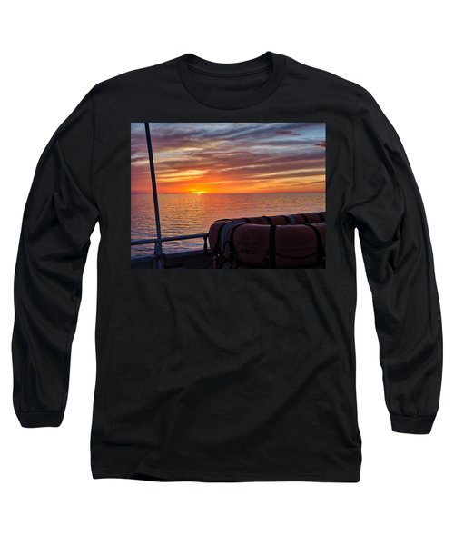 Sunset In The Gulf Long Sleeve T-Shirt