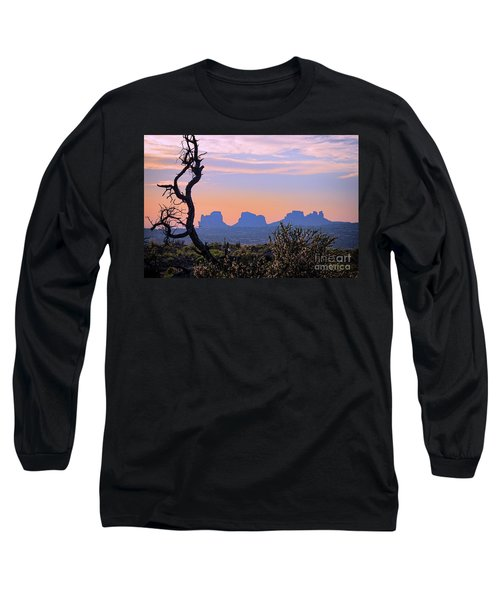 Sunset In Utah Long Sleeve T-Shirt