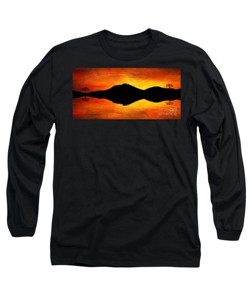 Sunset Island Long Sleeve T-Shirt