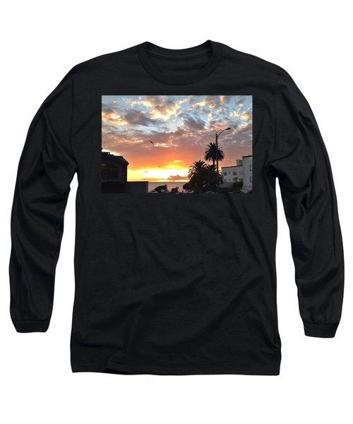 Sunset Laguna Oct 2015 Long Sleeve T-Shirt by Dan Twyman
