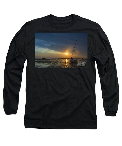 Sunset On Cape Cod Long Sleeve T-Shirt