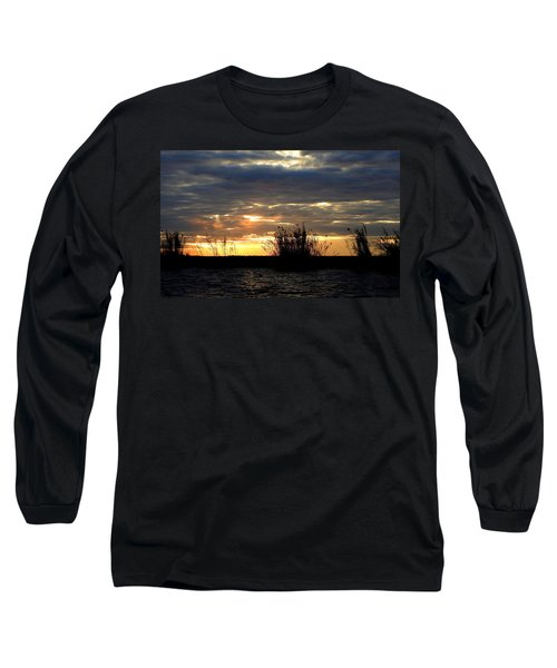Long Sleeve T-Shirt featuring the photograph Sunset On Chobe River by Betty-Anne McDonald