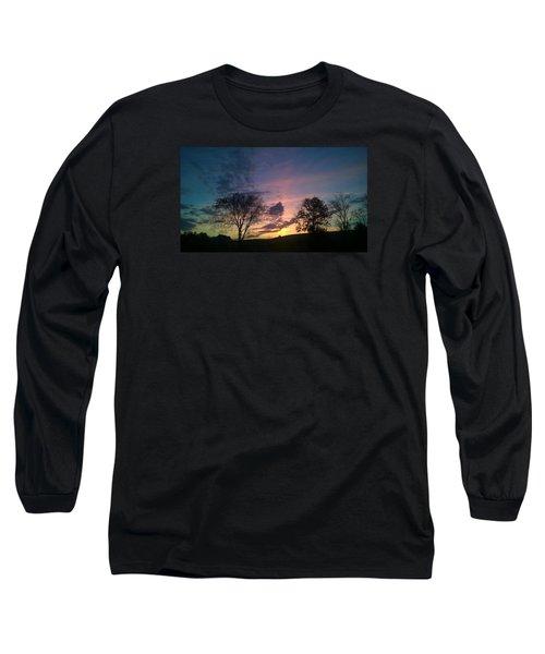 Sunset On Hunton Lane #12 Long Sleeve T-Shirt