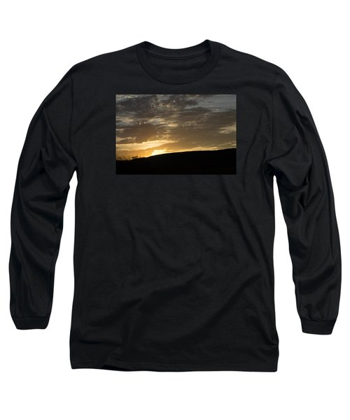 Sunset On Hunton Lane #3 Long Sleeve T-Shirt by Carlee Ojeda