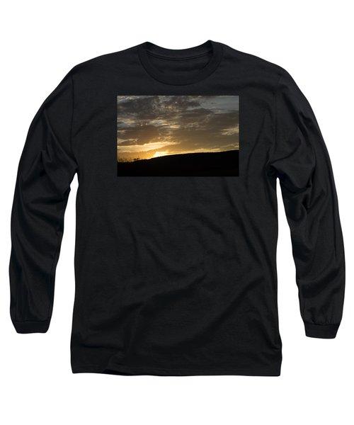 Sunset On Hunton Lane #3 Long Sleeve T-Shirt