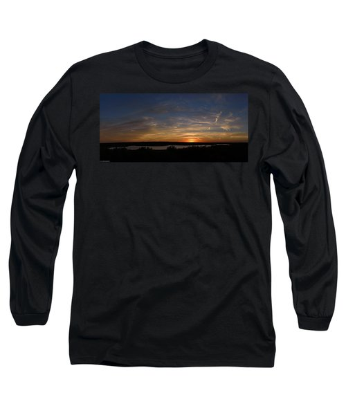 Sunset On Lake Georgetown Long Sleeve T-Shirt