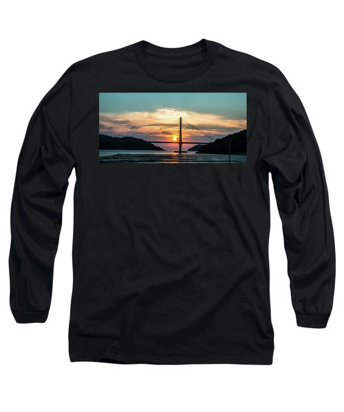 Sunset On The Bridge Long Sleeve T-Shirt