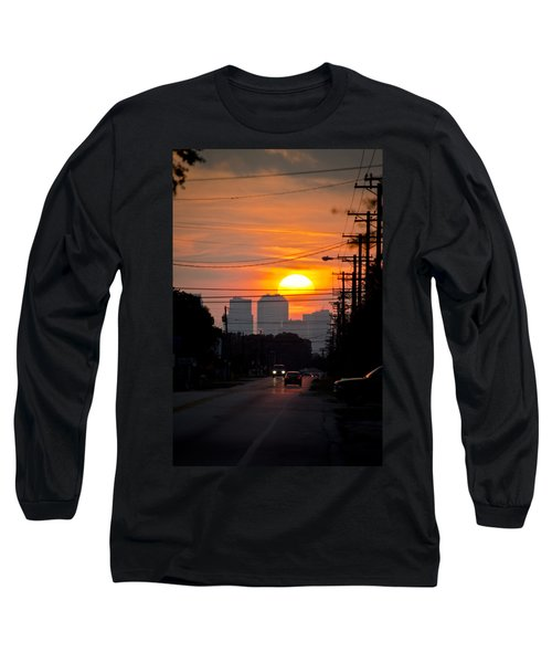 Sunset On The City Long Sleeve T-Shirt
