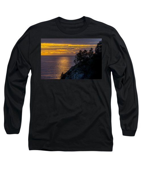 Sunset On The Edge Long Sleeve T-Shirt
