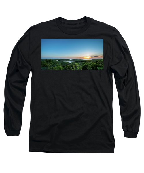 Sunset On The Outer Banks Long Sleeve T-Shirt