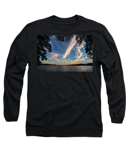 Sunset On The Pamlico Long Sleeve T-Shirt