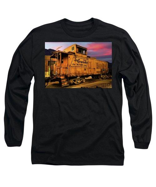 Sunset On The Rio Grande Long Sleeve T-Shirt