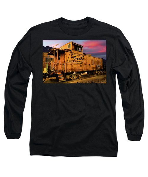 Sunset On The Rio Grande Long Sleeve T-Shirt