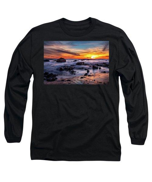 Sunset On The Rocks Long Sleeve T-Shirt