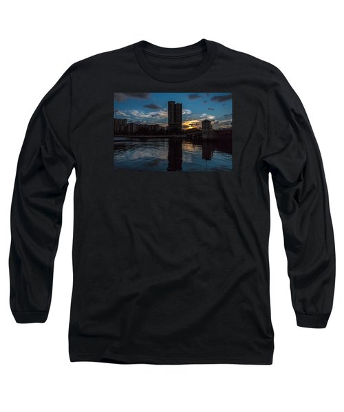 Sunset On The Water Long Sleeve T-Shirt