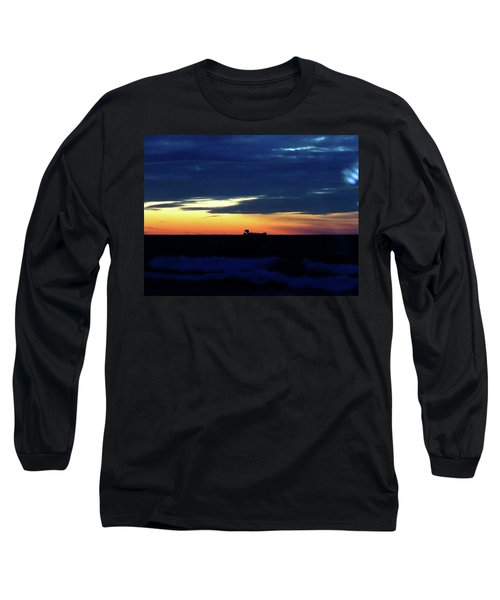 Sunset On Winter Solstice Eve Long Sleeve T-Shirt