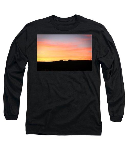 Sunset Over Cairnpapple Long Sleeve T-Shirt