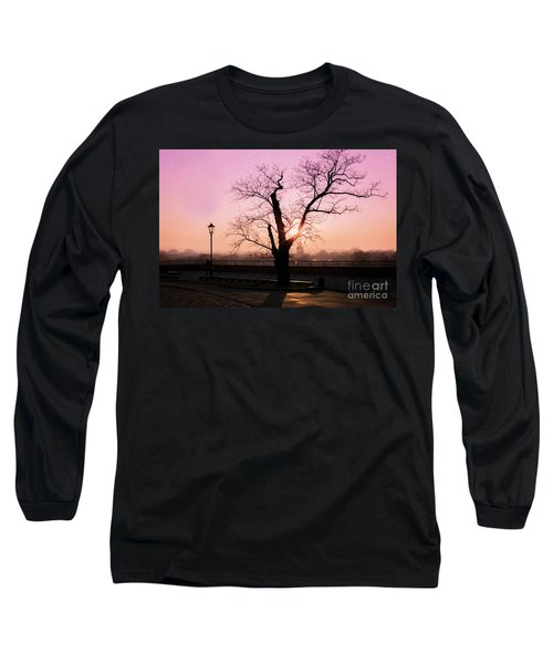 Long Sleeve T-Shirt featuring the photograph Sunset Over Krakow by Juli Scalzi